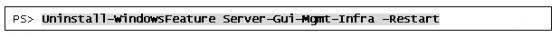図2Uninstall-WindowsFeatureコマンドレット