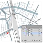 イラストレーターで地図を作成する方法(Illustrator編)2