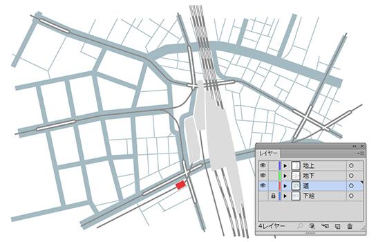 地図の描き方(Illustrator編)2