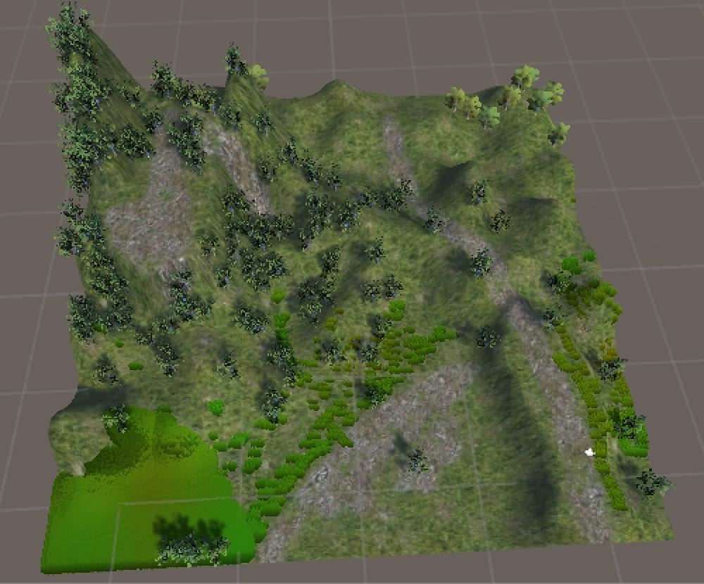 Unityで箱庭を作る(2)