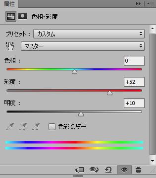 彩度パネル