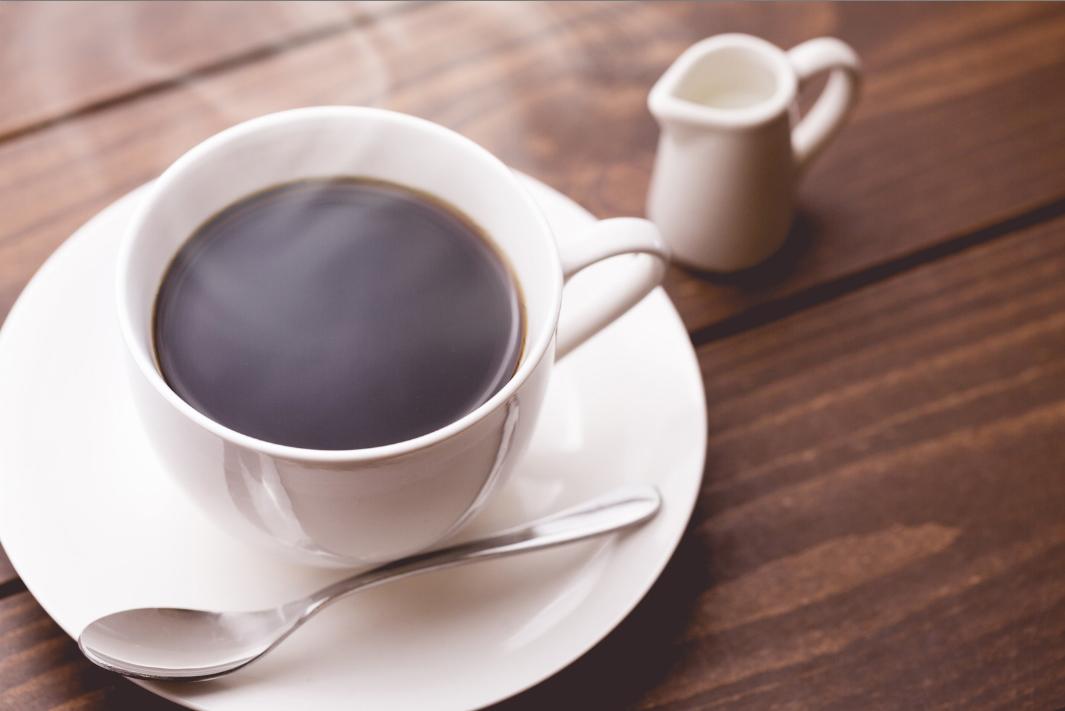 Photoshopで湯気を作って、熱々のコーヒーを演出する