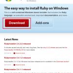 Rubyの環境構築(Windows10編)